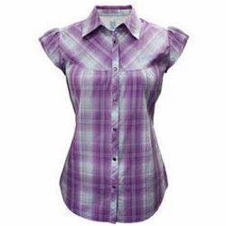 Ladies Check Shirt