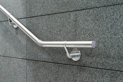 PIPE and Panel Silver SS Wall Mounted Railing