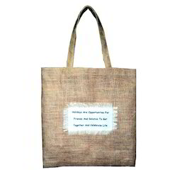Brown Jute Promotional Bag
