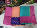 Fancy Cotton Pattern Work Sarees