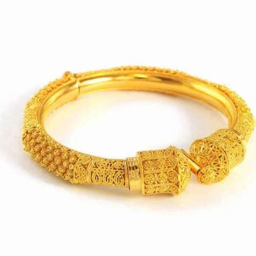 Gold Kada Fancy Gold Kada Manufacturer From New Delhi