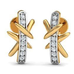Gold 14K Diamond Earring
