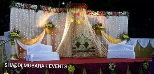 Outdoor jaymala stage decoration in bhuli nagar dhanbad shaddi outdoor jaymala stage decoration junglespirit Gallery