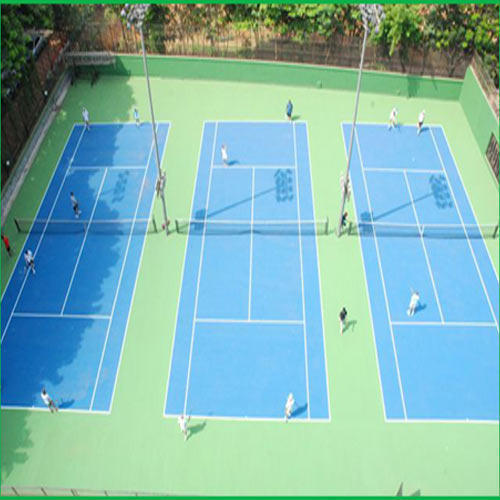 Acrylic Synthetic Courts Service, Thickness	: 6 mm