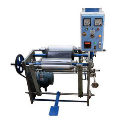 FEE Automatic Aluminum Foil Cum Stretch Wrapping Rewinder Machine