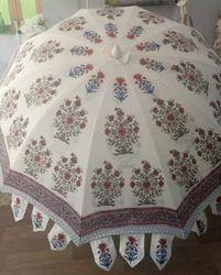 Nylon Printed Garden Umbrella