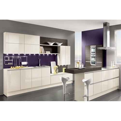 Modern Modular Kitchen Manufacturer From: PU Modular Kitchen At Rs 1100000 /unit