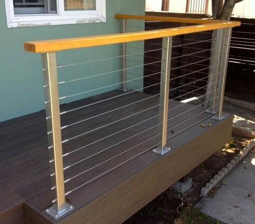 Stainless Steel Cable Wire Railing, Rs 1200 /unit, Super Steel Impex ...