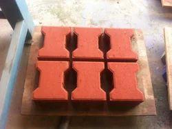 I Shaped Paver Interlocking Tiles