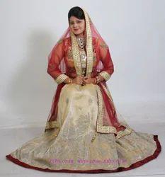 Ready Bridal Organza With Hand Work Lehenga