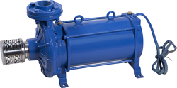 Stainless Steel/ Mild Steel AC Powered Open Well Submersible Pump, Usage: Commercial