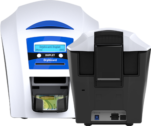 Orphicard duplet at rs 38999 piece id card printing machine orphicard duplet at rs 38999 piece id card printing machine smart card printing machine visiting card printer infinize card technology private reheart Images