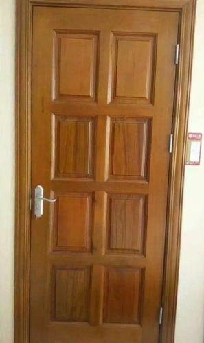 Solid Wooden Doors Bharat Plywood Manufacturer In R S
