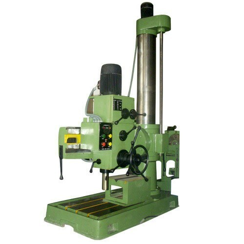 Automatic Geared Radial Drilling Machine