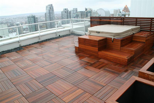 Deck Wood Tail Flooring