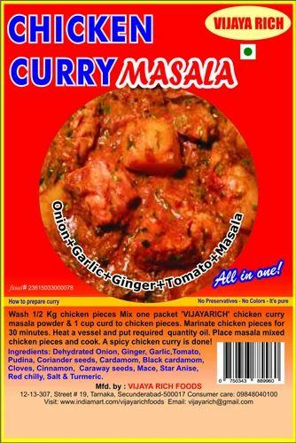 Chicken Curry Masala Vijaya Rich Foods Manufacturer In Tarnaka