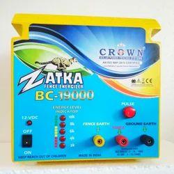 Solar Fence Energizer Zatka Machine Electric Fence Energizer