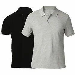 Plain Men T Shirts