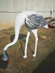 White FRP Big Dove, For Exterior Decor And Promotional Use