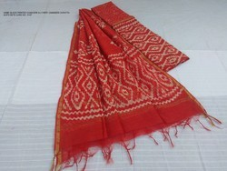 Red Batik Salwar Suits