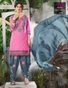 Cotton Suit Dress Material with Embroidery