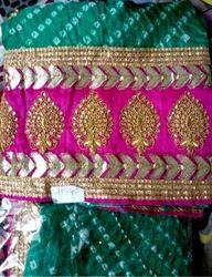 Green Chiffon Punjabi Suits