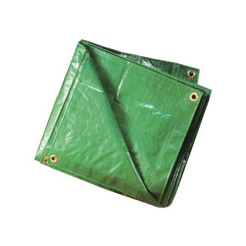 Green HDPE Waterproof Tarpaulins, Thickness: 2 -5 Mm