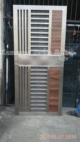 Stainless Steel Door Ss Main Doors Manufacturer From Noida