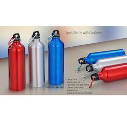 Sports Bottle With Carabiner