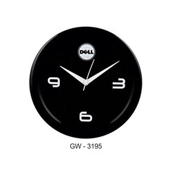 Promotional Black Wall Clock