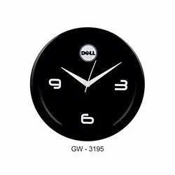 Promotional Black Wall Clock