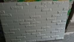 Gypsum Bricks Wall