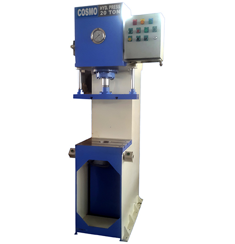 20 Ton Hydraulic Press | Cosmo Engineers | Manufacturer in