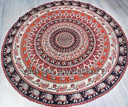 Gypsy Mandala Handmade Cotton Indian Beautiful Tapestry