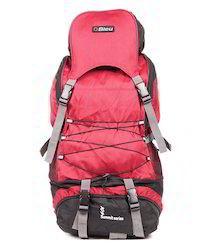 Red Backpack Rucksack Bag