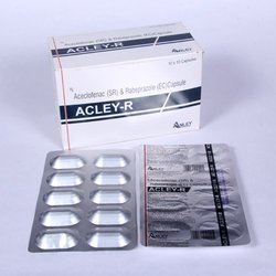 Enteric Coated Rabeprazole 20mg Aceclofenac 200mg SR Caps