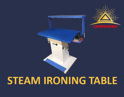 Steam Iron Press  Vacuum Table