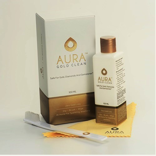 Aura Gold Clean TM ZERO Gold Loss Jewellery Cleaner
