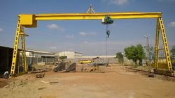 Single Girder A-Frame Crane