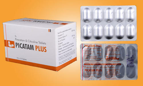 Nootropic Drugs Piracetam And Citicoline Tablets Manufacturer From