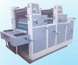 Two Colors Web Offset Printing Machine
