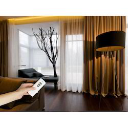 home motorized curtain