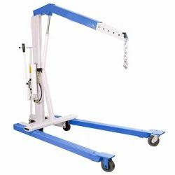 U Model Hydraulic Floor Crane