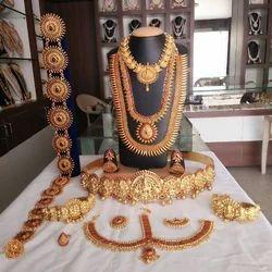 Bridal Jewelry Sets in Coimbatore Tamil Nadu Bridal Jewellery