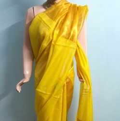 Hand Woven Cotton Silk Saree