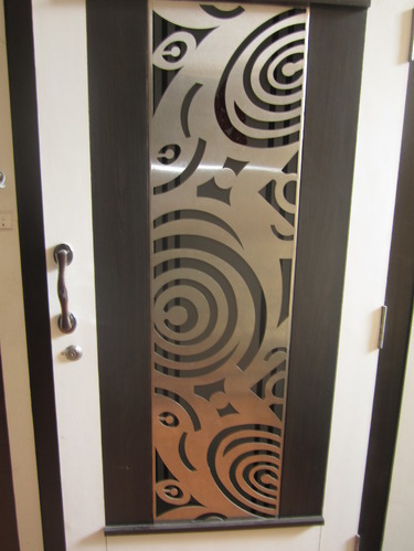Laser Cutting Door Grill Grill Door Safety Door Grill
