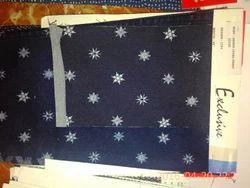 Printed Lycra Denim Fabric
