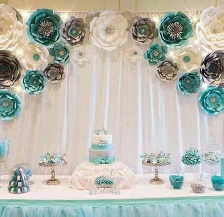Paper flower theme party decoration services in ripon street paper flower theme party decoration services mightylinksfo