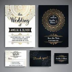 Wedding Invitation Cards Designing Services