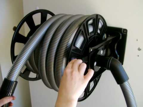 Central Vacuum Retractable Hose Whole Distributor From